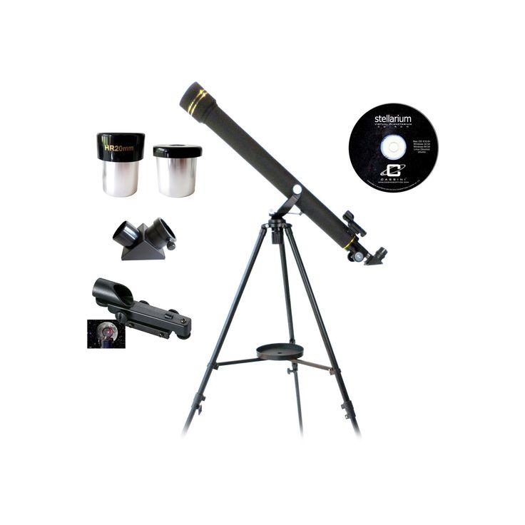 Galileo 800x60 Refracting Telescope - Black