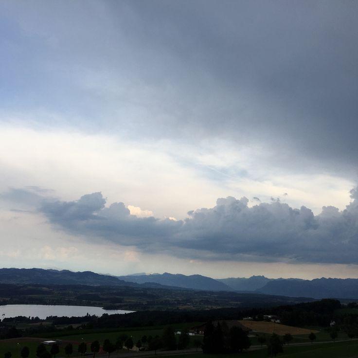 greifensee und Alpen