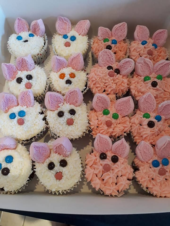 Easter themed cupcakes from Danica Carter Wgtn GBB