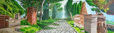{#arte #oiloncanvas #landscape #painting #art}     club del verde vescica                                       : Dipingere un paesaggio: APPIA ANTICA (ROMA)