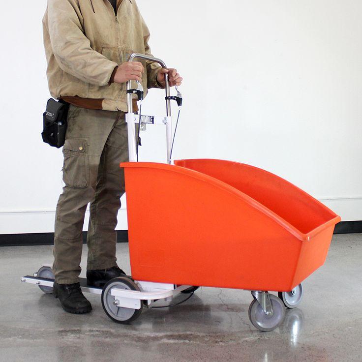 De Nimble XL is ontworpen voor magazijn en logistiek medewerkers die meer of grotere goederen moeten vervoeren.