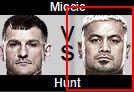 UFC Fight Night 65 Mark Hunt vs Stipe Miocic Prediction