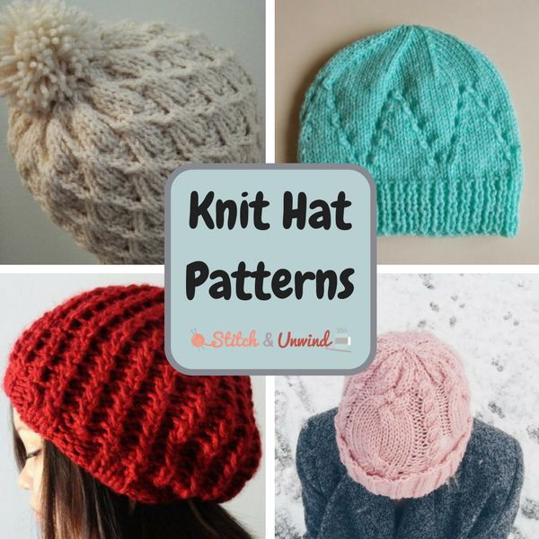 1000+ ideas about Knit Hat Patterns on Pinterest Hat Patterns, Knitting and...