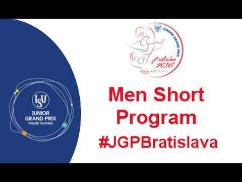2015 ISU Junior Grand Prix Bratislava Men Short Program