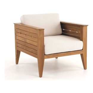 Westminster Teak Furniture - Craftsman Teak Lounge Chair - It's arts and crafts time! Design-based on classic Craftsman style, this teak lou...