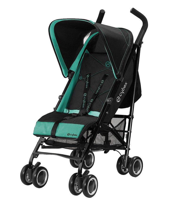 Lagoon Onyx Stroller by Cybex on zulily today