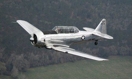 Travel back in time during 30-minute flights on classic aircraft