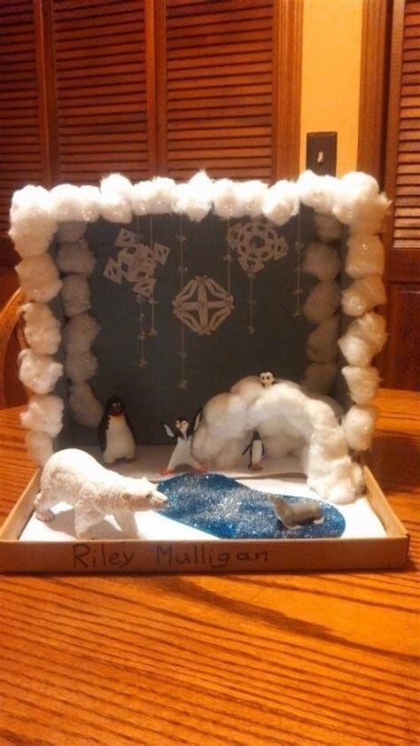 Image result for Polar Bear Habitat Diorama Shoebox ...