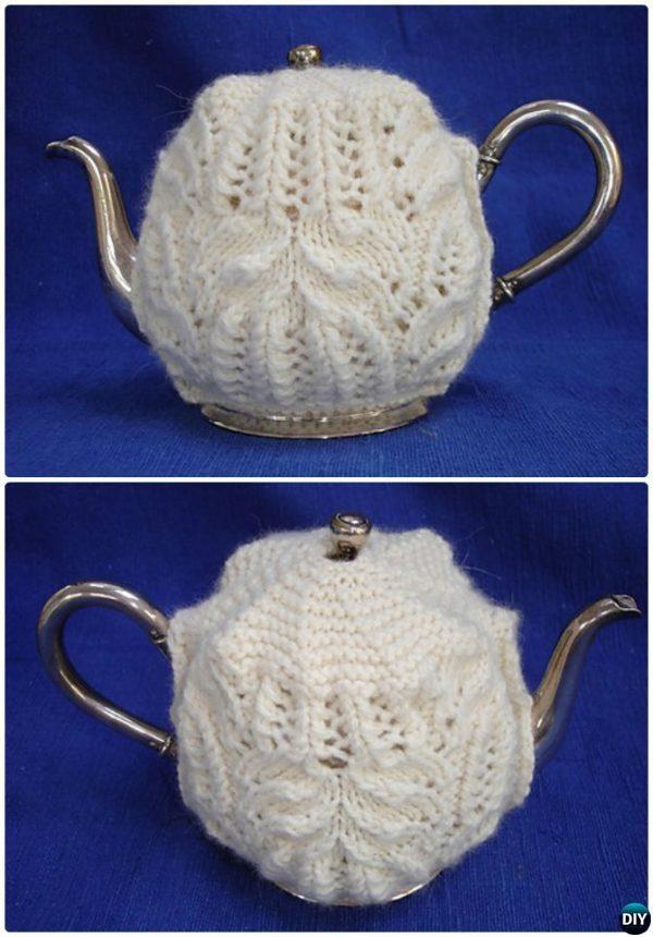 Knit Aunt Jane Tea Cozy Free Pattern-20 Crochet Knit Tea Cozy Free Patterns