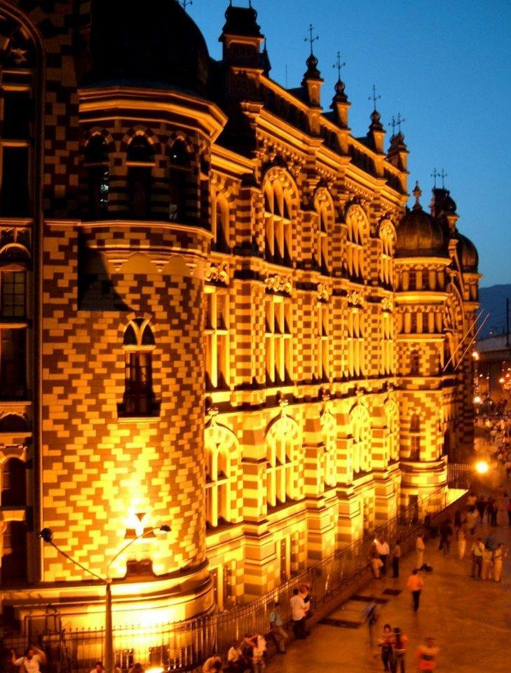 Palacio de la Cultura Medellin, Colombia Palace of Culture