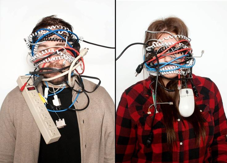 His & Her Cords, 2011. E.Lojewski
