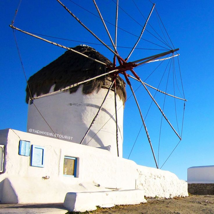Can you guess what century this windmill dates back to? 17th, 18th, 19th? I didn't! 🙊 Standing proudly on the hill overlooking beautiful Mykonos since the 16th century, imagine the stories this iconic structure could tell of years long gone ✨ What's a surprising fact you've learnt on your travels? 🌏 #traveltheworld #theinvisibletouristway ~