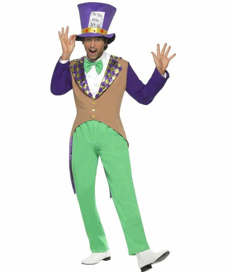 ADULT MENS MAD HATTER COSTUME ALICE IN WONDERLAND HALLOWEEN FANCY DRESS - MEDIUM #Smiffys... for my hubby