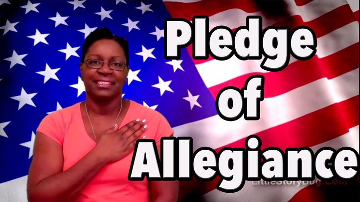 """Join Ms. Tracey as she recites the """"Pledge of Allegiance."""" This is a great way…"""