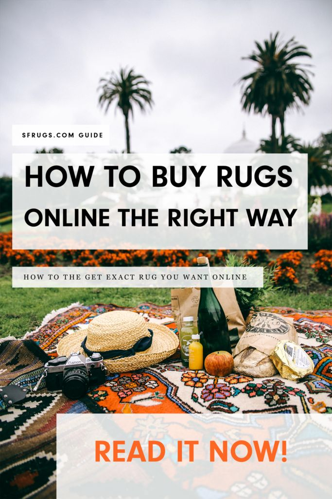 A guide to buying rugs online  Let's be honest. Buying a rug online is kinda scary.  You can't feel the rug.  You can't see the rug's true colors.  So you have to rely on the images and description to get it right.  I know it's intimidating, but don't fret.  I've put together this guide to help you buy the rug of your dreams without fear.   Now fair warning. The guide is maybe a bit too honest.  Most of this guide actually originated as a long email to answer my friend's rug questions...