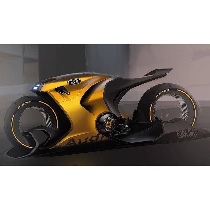 """car design italy auf Instagram: """"AUDI MOTORCYCLE DEMO von @ogsnkrhd.-⬇comment …   – Bikes + Parts"""