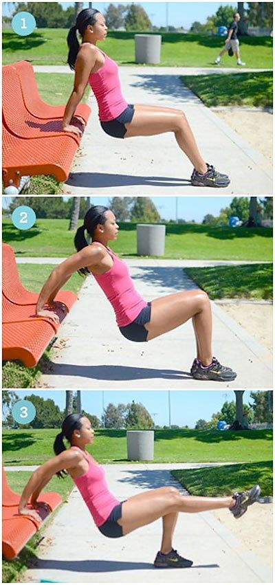 Dips are an advanced exercise which basically targets the triceps by involving both the elbow and the shoulder joint.