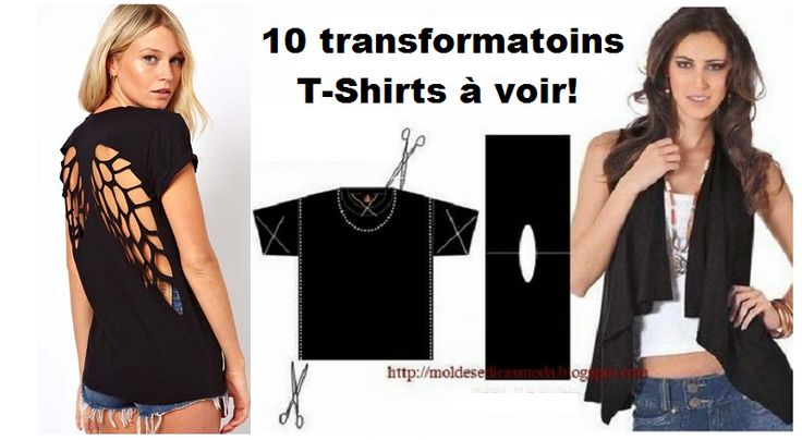 10 incroyables transformations de T-Shirt!