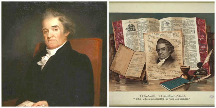 October is National Dictionary Day named after Noah Webster who wrote the first American dictionary in 1801. Educational activities and games included in post.  #Education