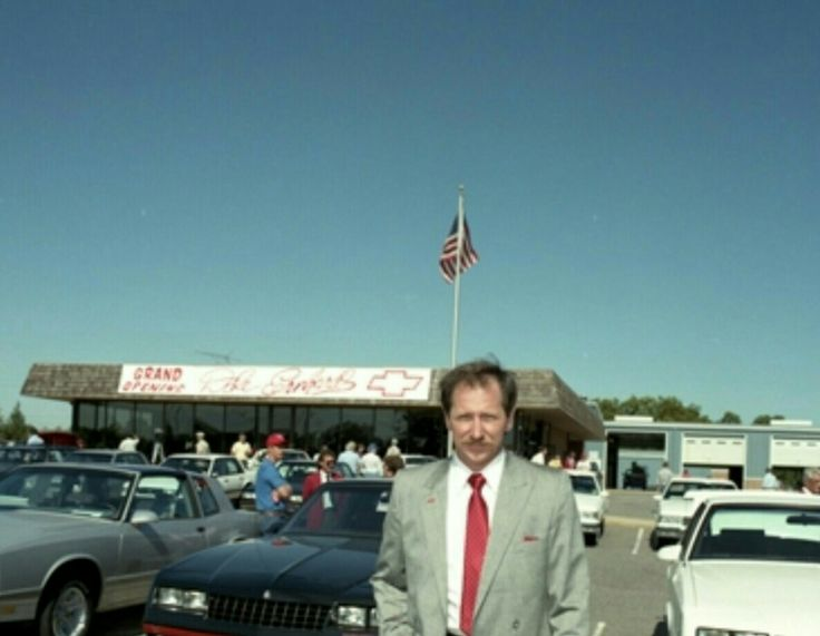 Dale Earnhardt Grand Opening of Chevy Dealership