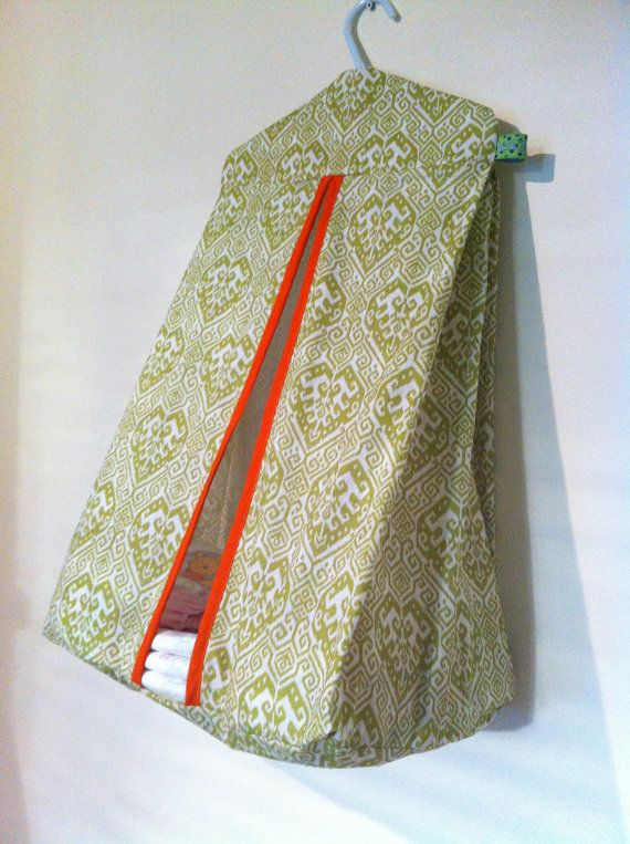 Modern Moroccan Style Nappy Stacker / Diaper Hanger by MadeByBecky, $55.00