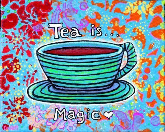 Image result for tea is magical