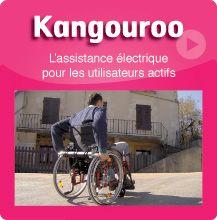 Les motorisations légères amovibles pour fauteuils roulants manuels