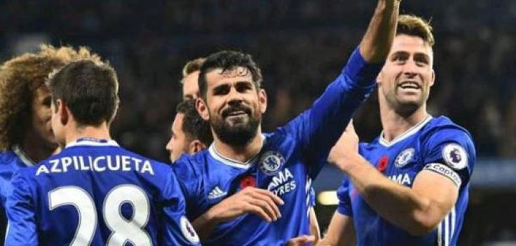"""Chelsea Ingin Cetak Rekor di Akhir Tahun  KONFRONTASI-Chelsea menuju jadwal padat seputar Natal dengan memahami bahwa mereka dapat menutup tahun dengan menulis ulang buku-buku rekor.  Kemenangan di kandang saat menjamu Bournemouth pada """"Boxing Day"""" akan menjadi kemenangan beruntun ke-12 bagi klub itu di liga. Kemenangan lain atas Stoke City di Stamford Bridge pada 31 Desember akan membuat """"Si Biru"""" menyamai rekor 13 kemenangan beruntun dalam satu musim seperti yang pernah diukir Arsenal pada…"""