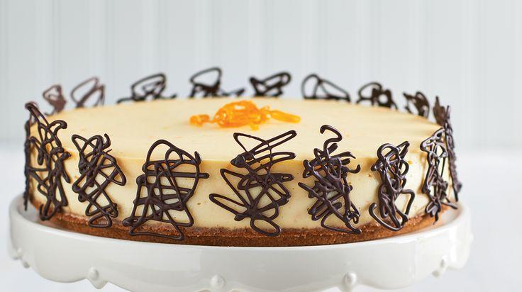 Orange & White Chocolate Cheesecake