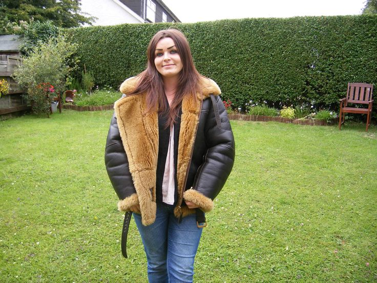Genuine Irvin Sheepskin Flying Jacket Only Worn Once Size 40 ...