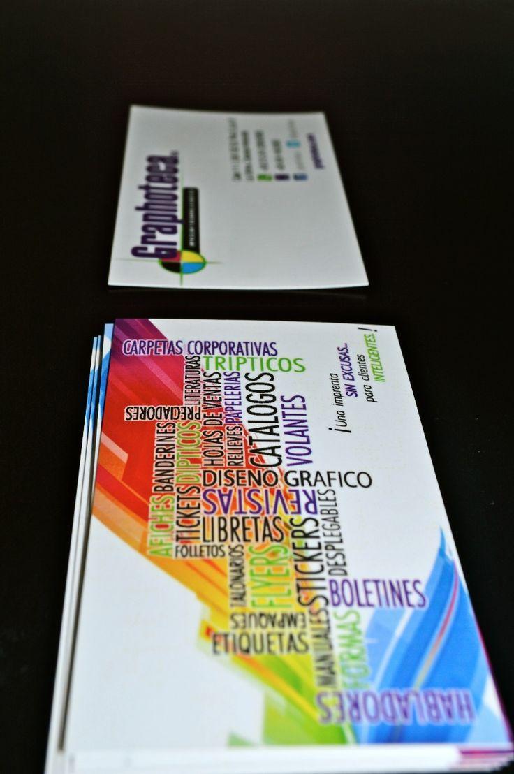 La tarjeta de presentación es una extensión de ti, es cómo te ves en el ámbito laboral. http://graphoteca.com