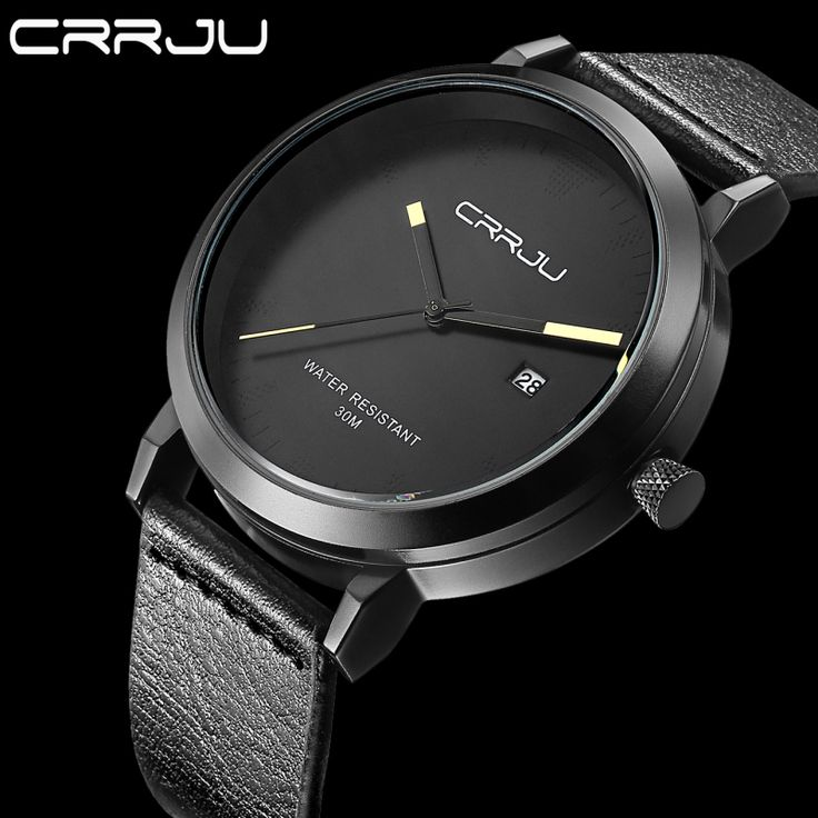 2016 New Luxury Brand CRRJU Men Watches Fashion Casual Men Watches Analog Army Military Sports Watch Quartz Male Wrist watches-in Quartz Watches from Watches on Aliexpress.com   Alibaba Group