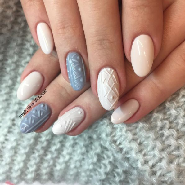 Sweater Nail trend