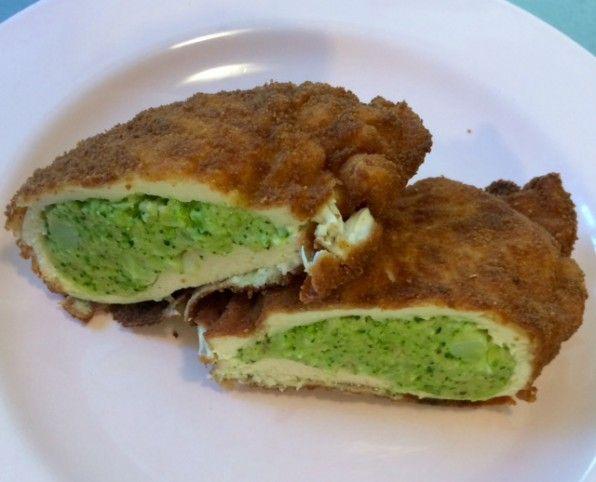Brokkolis juhtúróval töltött rántott hús Recept képpel - Mindmegette.hu - Receptek