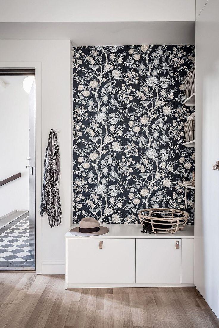 Un appartement familial en tons neutres en Suède