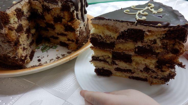Шахматный Торт / Chessboard Cake
