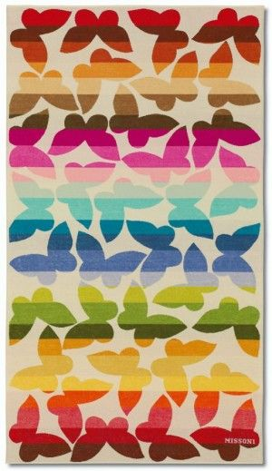 Stylish Workout Clothes: Missoni Jamelia Beach Towel