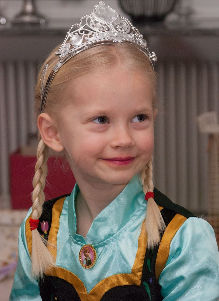 Prinsesse Anna from Frozen costume