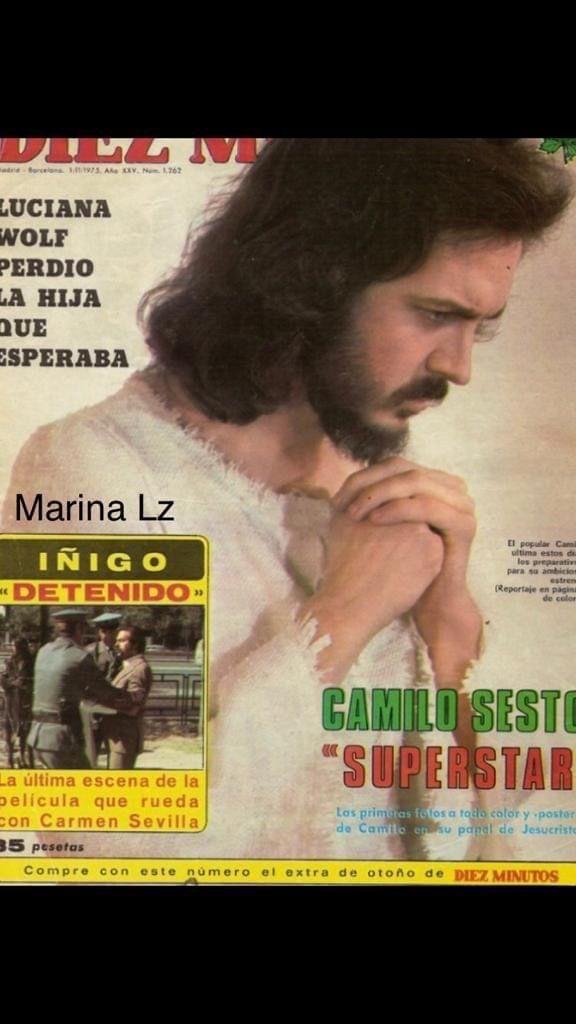 Pin De Yadhira Franco En Jesucristo Super Star Carmen Sevilla Camilo Documentales