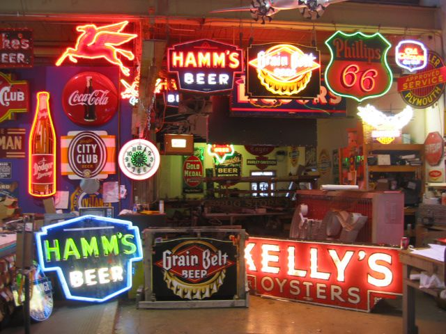 Man Cave Neon Light Signs : Vibes only real glass neon sign for bedroom garage bar man cave