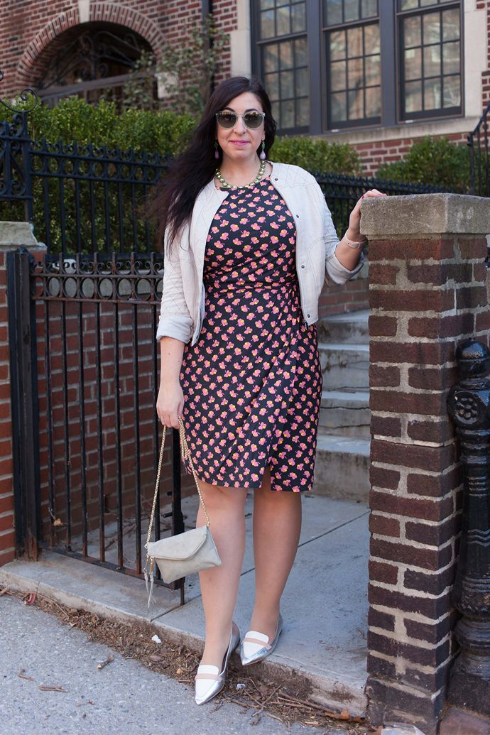 Seen on Effortlessly with Roxy :: Boden Lottie Ruched Dress, Free People  Twin City