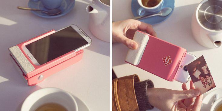 Prynt – la coque qui transforme votre smartphone en polaroïd   Après la flemme