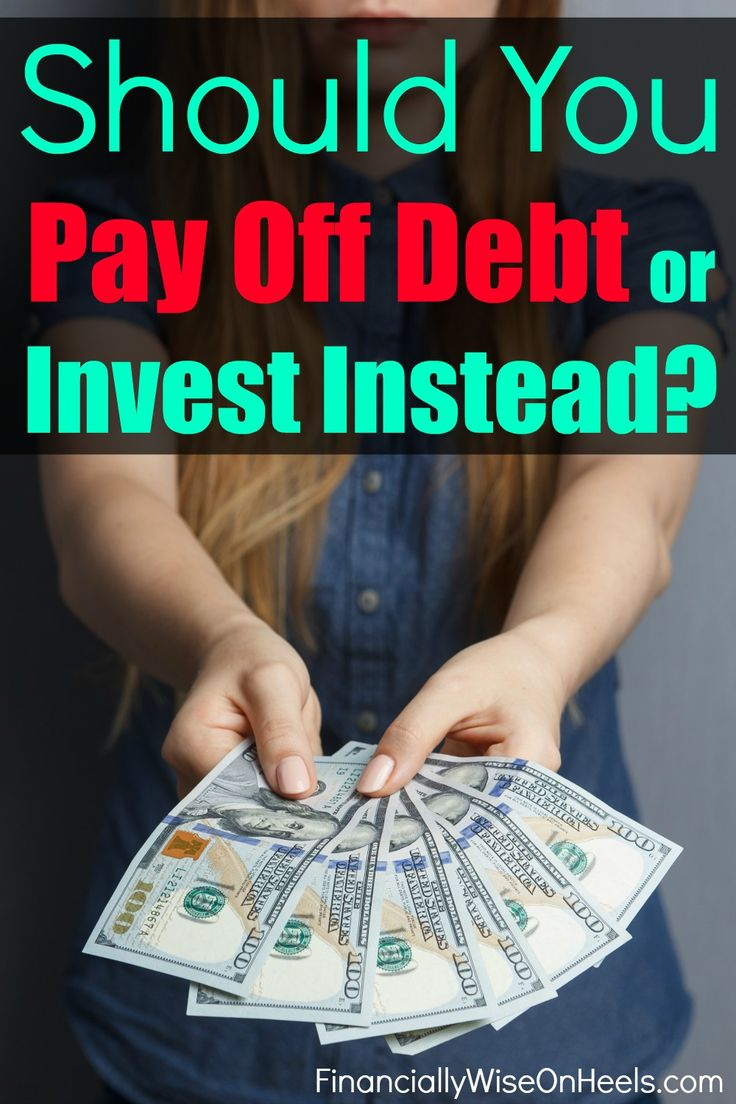 Which is better, to pay off debt or invest?  There really is no right or wrong answer. It depends on your current financial situation.  These top 5 tips help you to make the wise decision whether to pay off debt or invest instead.  http://www.financiallywiseonheels.com/which-is-better-to-pay-off-debt-or-invest/