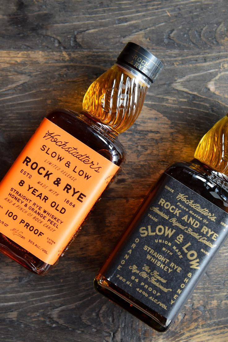 Rock & Rye is hot and if you're tired of making your own, check out Slow & Low from Hochstadter's. Rye whiskey based using a Prohibition recipe and it makes a great Mint Julep!