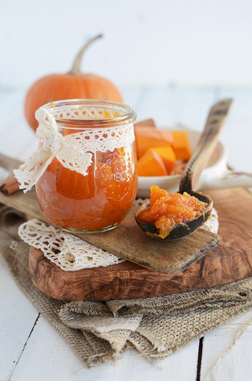 Pumpkin and orange jam is perfect for breakfast, brunch or for baking