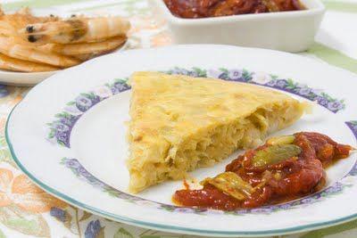 Comida y Recetas vegetarianas desde Israel por la Morah Rivka Zoegell: Tortilla de Puerro