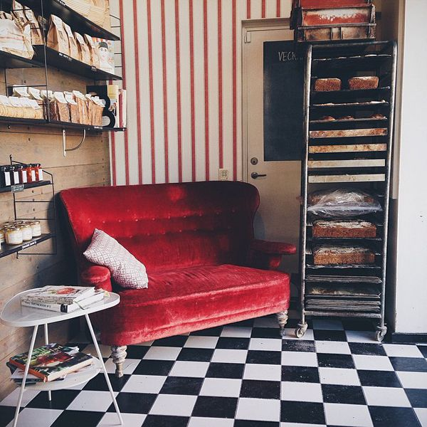 where can I get a red velvet kitchen sofa like tomorrow?