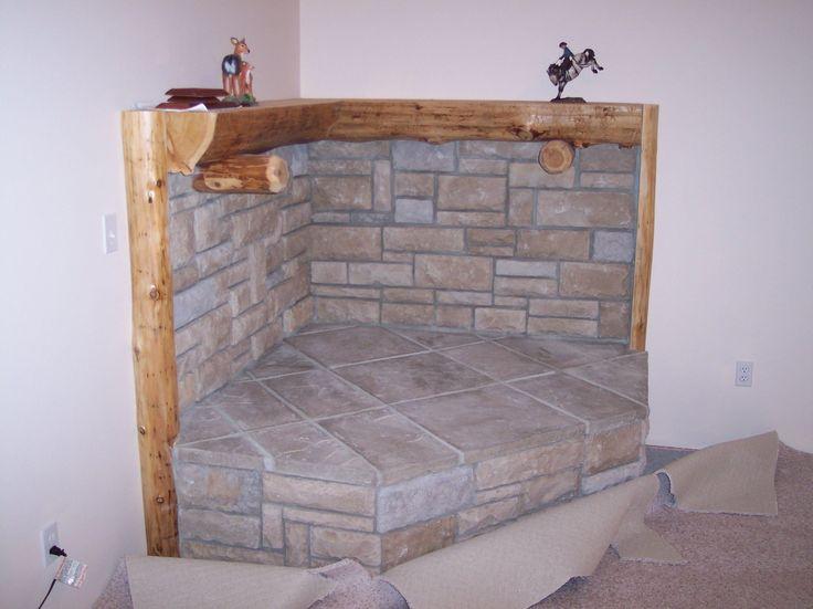 Image result for Wood-Burning Stove corner ideas S…
