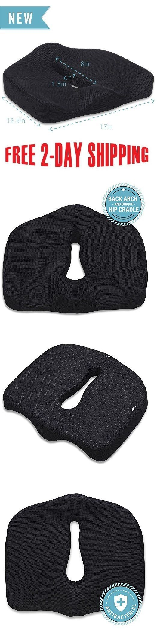 Other Orthopedic Products: Seat Car Chair Seat Cushion Pillow For Sciatica Prostate Hemorrhoid Tailbone New -> BUY IT NOW ONLY: $37.99 on eBay!