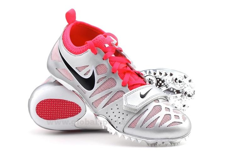 Nike zoom celar 4 women's track spikes. my babies<3 &#124; Women shoes &#124;  Pinterest &#124; Nike zoom